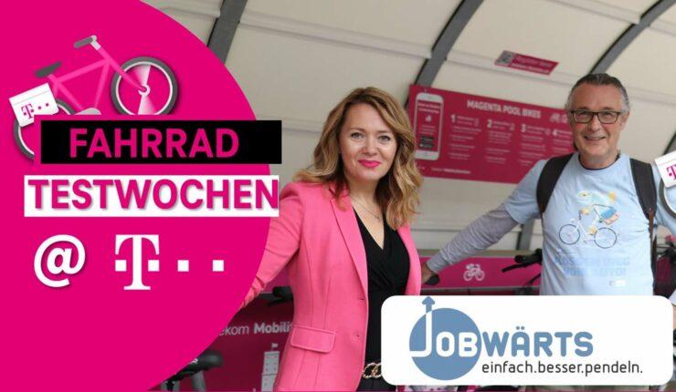 Jobwärts Fahrradtestwochen @Deutsche Telekom 2021